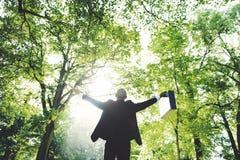 Concept van het bedrijfsontspannings het Milieubehoud Stock Foto's