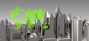 Concept van het e-business het Sociale Netwerk vector illustratie