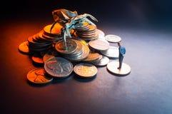 Concept van het zakenlieden het Kwade Geld royalty-vrije stock afbeeldingen