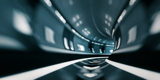 Concept van motie het snelle tranportation Stock Afbeelding