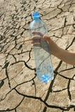 Concept van watertekort Royalty-vrije Stock Afbeeldingen
