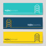 Concept vector banner background Royalty Free Stock Images