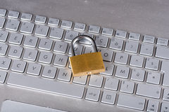 Concept IT veiligheid royalty-vrije stock fotografie