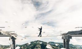 Concept verborgen risico's en gevaren Stock Foto