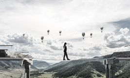 Concept verborgen risico's en gevaren Royalty-vrije Stock Afbeeldingen