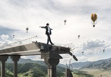 Concept verborgen risico's en gevaren Stock Afbeelding