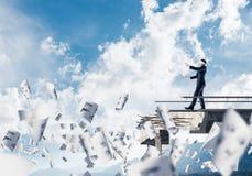Concept verborgen risico's en gevaren Stock Foto's