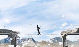 Concept verborgen risico's en gevaren Stock Afbeeldingen