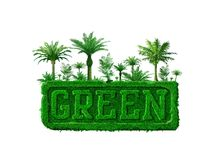 Concept vert Image stock