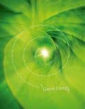 Concept vert d'énergie Illustration Libre de Droits