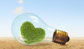 Concept vert d'énergie Photographie stock