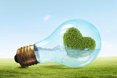 Concept vert d'énergie Images stock