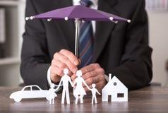 Concept verzekering Royalty-vrije Stock Foto's