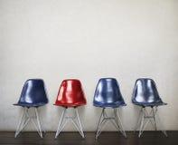 Concept vide urbain de l'espace d'intérieur de meubles de chaise Image libre de droits