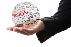 Concept of vision in business Stock Photo