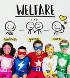 Concept volontaire sans but lucratif collectant des fonds de donations de charité photo stock