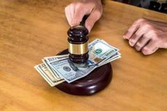 Concept voor Corruptie royalty-vrije stock foto