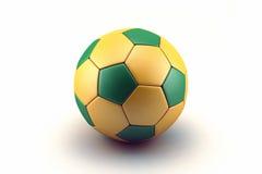 Concept voor de voetbalkampioenschap van Brazilië 2014 Stock Foto's