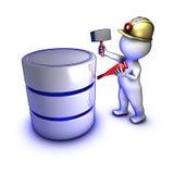 Concept voor het exploiteren van gegevens Stock Fotografie