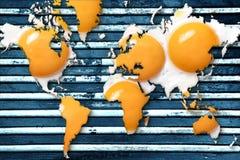 Concept voor het globale verwarmen royalty-vrije stock afbeelding