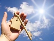 Concept voor homeownership Royalty-vrije Stock Afbeelding