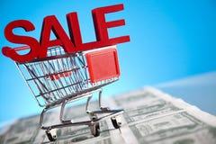 Concept voor marketing en elektronische handel Royalty-vrije Stock Afbeelding