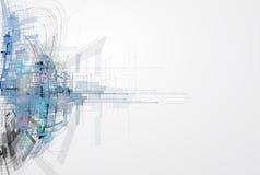 Concept voor Nieuwe Technologie Collectieve Zaken & ontwikkeling Stock Foto