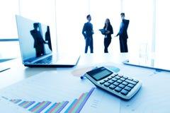 concept voor zaken en boekhouding Royalty-vrije Stock Foto