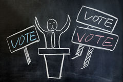 Concept of vote Royalty Free Stock Images