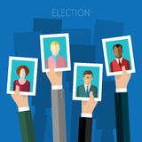 Concept of voting. Royalty Free Stock Image