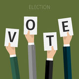 Concept of voting. Stock Photography