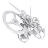 Concept watch mechanism Stock Photo