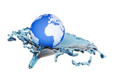 Concept water stream Stock Photography