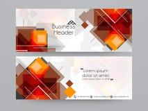 Concept of web business header. vector illustration
