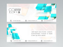 Concept of website header or banner. Royalty Free Stock Photography