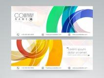Concept of website header or banner. Stock Images
