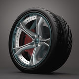 Concept Wheel Royalty Free Stock Images