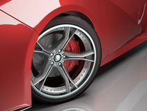 Concept Wheel Royalty Free Stock Photo