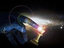 Concept Wining supérieur d'échecs d'intelligence artificielle Photo libre de droits