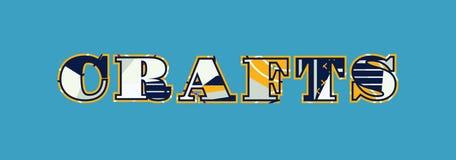 Concept Word Art Illustration de métiers illustration de vecteur