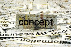 Concept word cloud Stock Photography