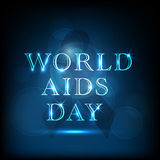 Concept of World Aids Day. Stock Photo