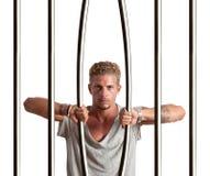 Vlucht van gevangenis Stock Foto