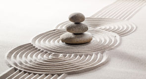 Concept of zen silence Stock Photo