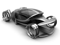 conceptcar μέλλον Στοκ εικόνα με δικαίωμα ελεύθερης χρήσης