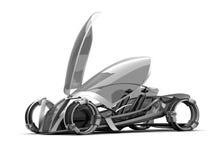 Conceptcar Zukunft Lizenzfreies Stockbild