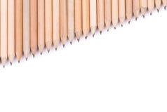 Concepten abstracte achtergrond van potloden Stock Afbeelding
