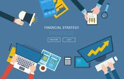 Concepten voor bedrijfsanalyse, het raadplegen Stock Afbeelding