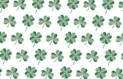 Conceptenachtergrond, St Patrick de kaarten van de Daggroet met gelukkige brieven, illustraties - vector vector illustratie