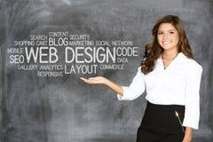 Concepteur de site Web Photo libre de droits